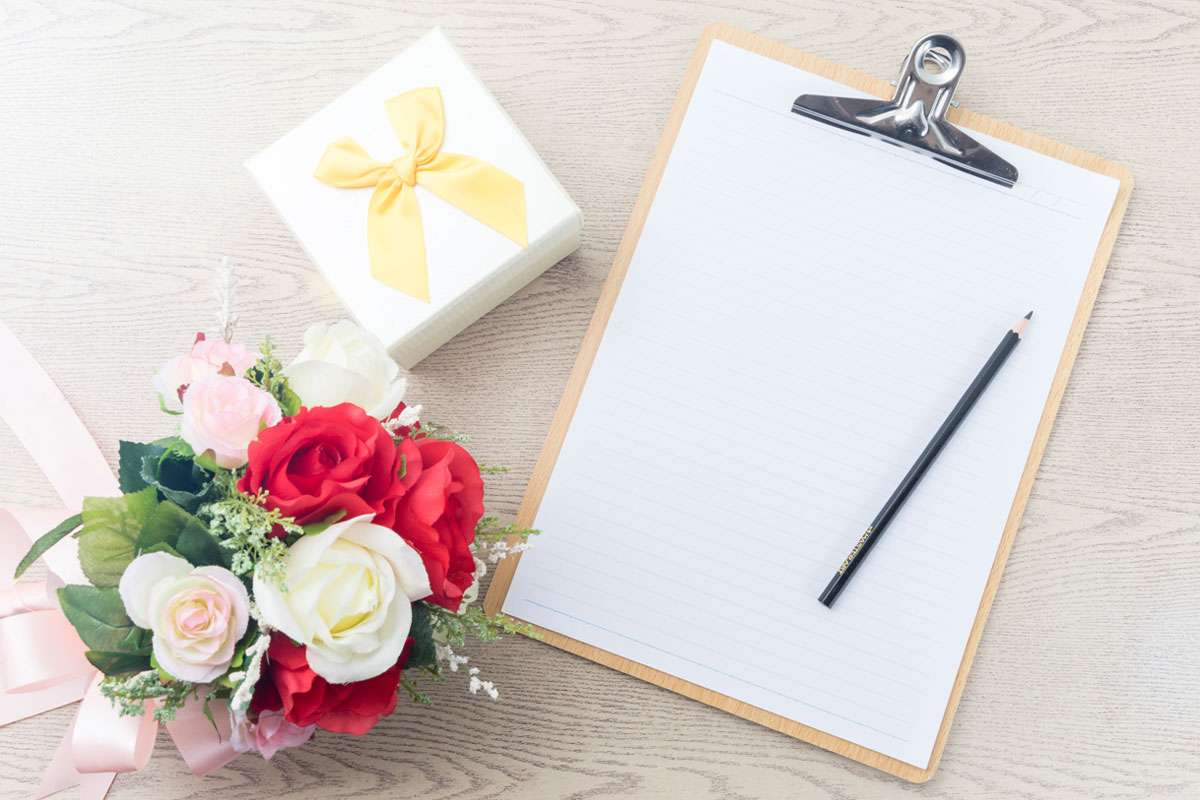 making your wedding guest list love affair