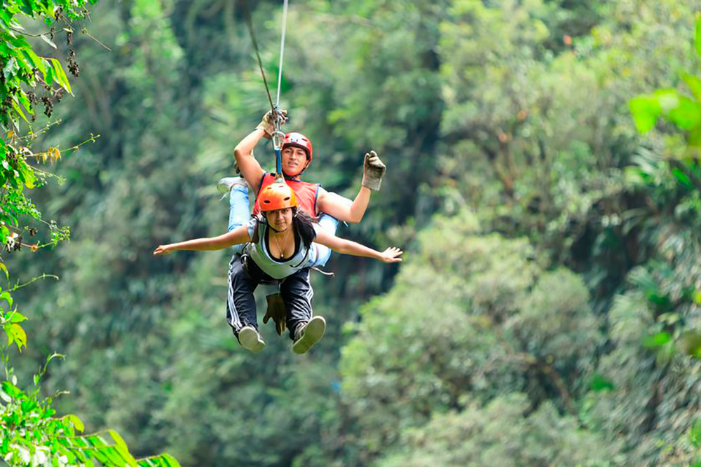 California Zip Line Canopy Tour