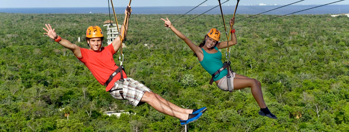 Zip Through the Treetops on a Romantic Adventure in Mexico