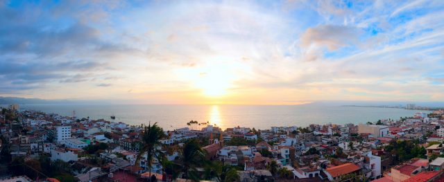 Enjoy the Sunset in Puerto Vallarta