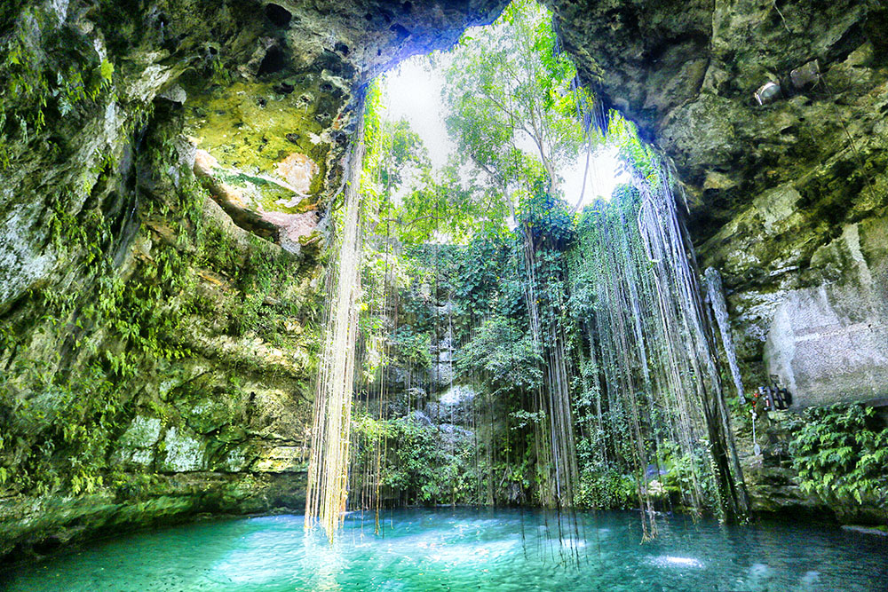 forever.    What are Cenotes?
