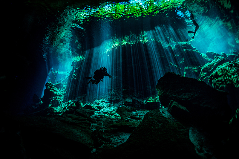 Cenotes and Sinkholes