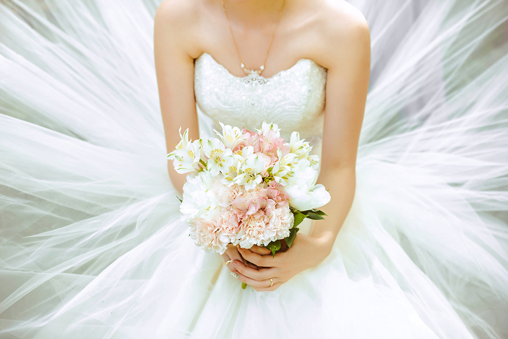 Wedding Gowns and Fabrics